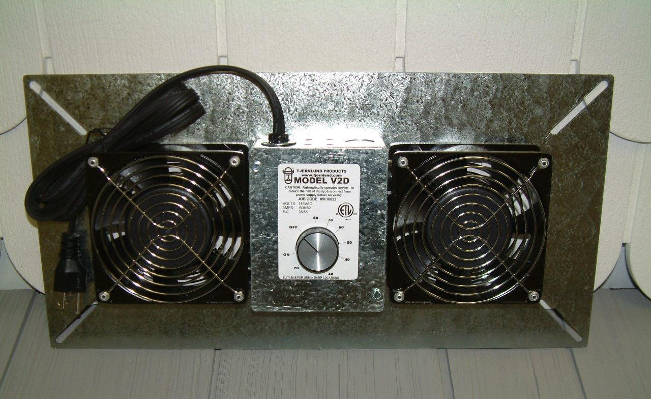 Crawl Space Vent Fans : Volko draft inducers foundation crawl space ventilation